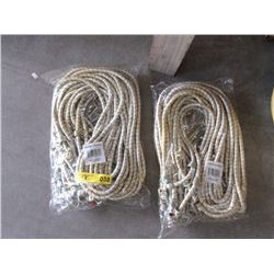 "2 Bundles of Twelve 72"" Bungie Cords"