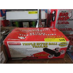 New Pit Bull Triple Ball Trailer Hitch