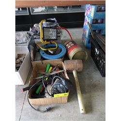 2 Boxes of Hand & Power Tools