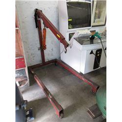 8 Ton Hydraulic Long Arm Picker