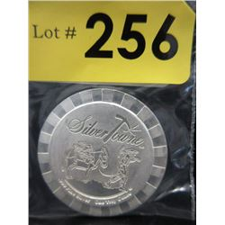 1Oz Silver Towne Stackable .999 Silver Round