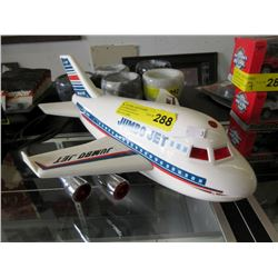 Vintage Zoomsters Friction Jumbo Jet Plane 1968
