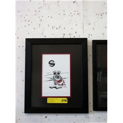 "Richard Shorty Framed Print ""Snowy Owl"""
