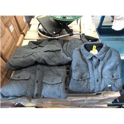 4 Men's New Boston Trader's Fleece Jackets