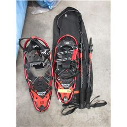 New Mountain Profile 821 Snowshoes with Poles & Bag