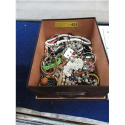 Six Pounds of Assorted Jewelry - Good for Crafting