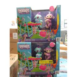 2 New Fingerlings Monkeybar Playsets