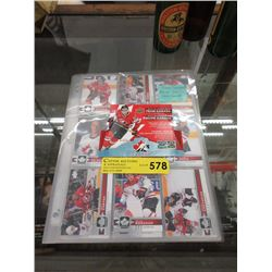 100 Team Canada Base Set Hockey Cards
