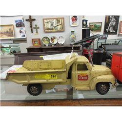 1950s/60s Buddy L Sit & Ride Truck