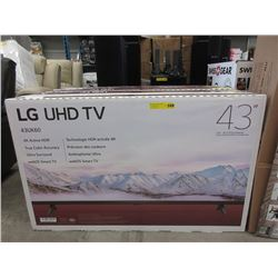 "New 43"" LG UHD TV - Model 43UK60"
