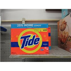 Two 5.8 KG Boxes of Tide Laundry Detergent
