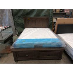New Queen Size Bed Frame with Storage