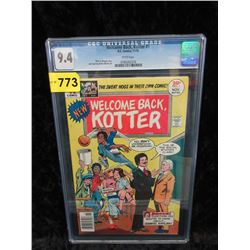 "Graded 1976 ""Welcome Back Kotter #1"" DC Comic"