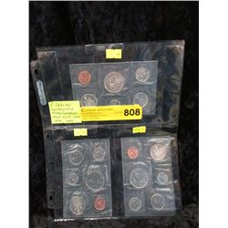 3 Sealed Canadian Mint Coin Sets - 1974, 1979 & 80