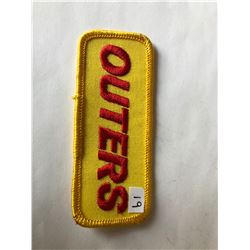 """Vintage Outdoors """"OUTERS"""" Patch in Like New Condition"""