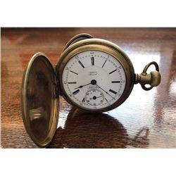 H.W. CO SPECIAL MODEL, 21 JEWELED POCKET WATCH