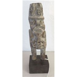 South American Carved Effigy