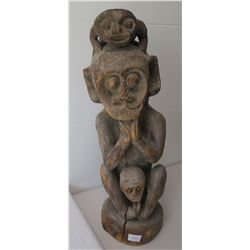 Early Indonesian Carving