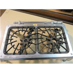 CAST IRON *PAINTED* STOVE *GAS, 2 BURNER*