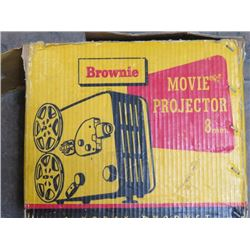 MOVIE PROJECTOR (KODACK, BROWNIE) *8MM*