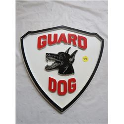 "GUARD DOG SIGN *11""X11"" TRIANGLE*"