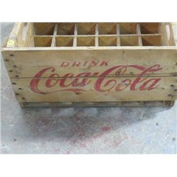 COCA COLA CRATE (FOR 24 BOTTLES)