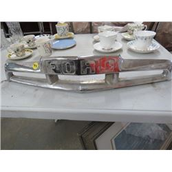 FORD CHROME HOOD GRILL