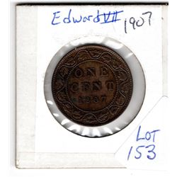 1907 EDWARD Vll LARGE CENT
