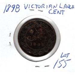 1898 LARGE VICTORIAN CENT
