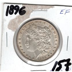 1896 MORGAN *SILVER* DOLLAR