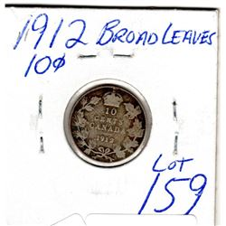 1912 10 CENTS *BROAD LEAVES*