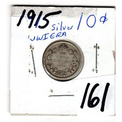 1915 10 CENT *SILVER*
