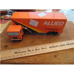 TOY STEEL TRUCK (ALLIED VAN LINES)