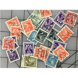 LOT OF (GERMAN WORLD WAR II) STAMPS