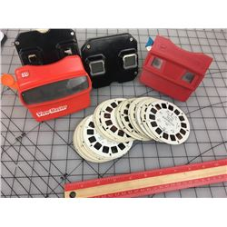 LOT OF VIEW MASTERS & SLIDES