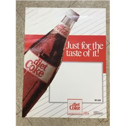"DIET COKE UNUSED RETAIL POSTER *24""X18""*"