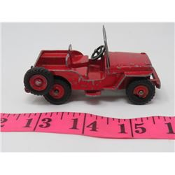 VINTAGE DINKY JEEP (MADE IN ENGLAND)