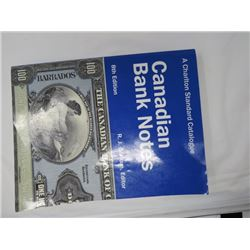 """""""CANADIAN BANK NOTES"""" (BY R.J. GRAHAM) *8TH EDITION*"""
