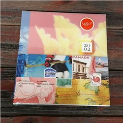 2002 COLLECTION CANADA STAMP YEAR BOOK *NEW IN PLASTIC *
