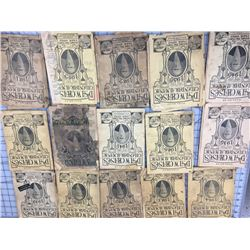 LOT OF 15 (DR. W. CHASE) CALENDAR ALMANACS *VARY IN CONDITION*