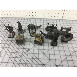 LOT OF MINIATURES *SOME ARE PENCIL SHARPENERS*