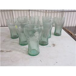 COCA COLA GLASSES (NO 5, 16 OZ) QTY 10