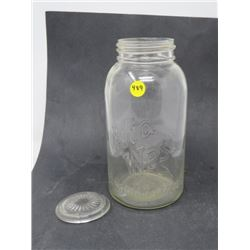 2 QUART JAR (MIDWEST) *MADE IN CANADA*