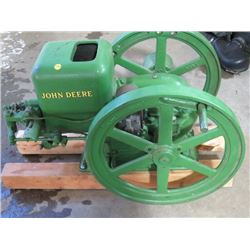 HIT & MISS ENGINE (JOHN DEERE) *1½HP, RESTORED*