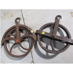 WELL PULLEYS (QTY 2)