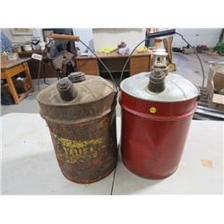 GAS CANS *5 GAL., TIN* (QTY 2)