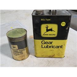 JOHN DEERE OIL *1 QT, FULL* & JD GEAR LUBRICANT