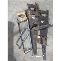 LOT OF SAWS (1 - MEAT) *QTY 5*