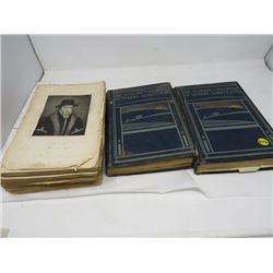 ENCYCLOPEDIA OF MODERN AGRICULTURE (QTY 2) & OLD HISTORY BOOK