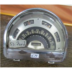 1953 FORD SPEEDOMETER